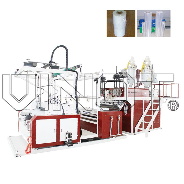 Double layer winding film machine (high speed)